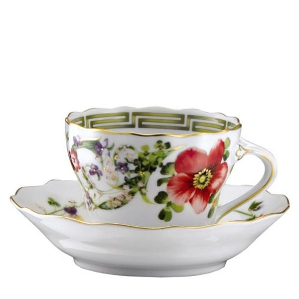Espresso Cup, 3 3/4 ounce | Versace Flower Fantasy
