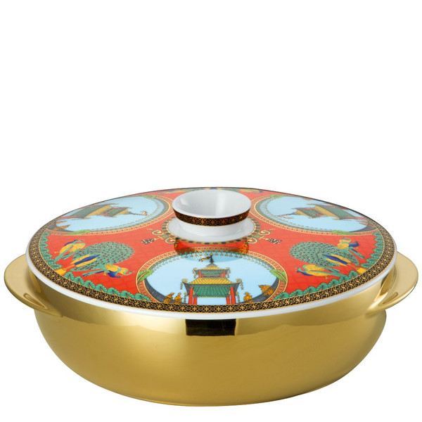 Soup Tureen, 95 ounce | Versace Marco Polo