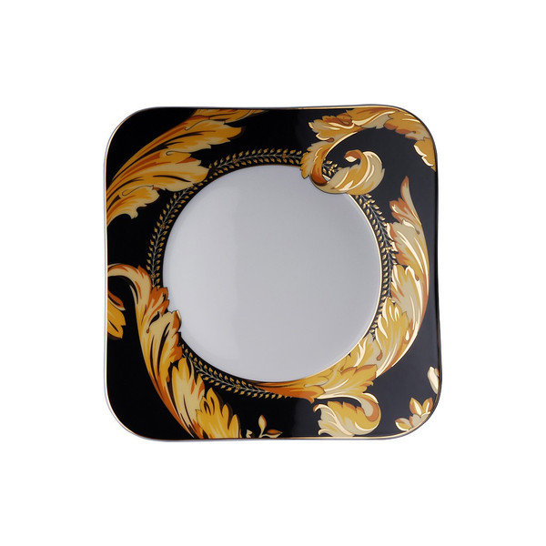 Salad Plate, Square, 8 1/4 inch | Versace Vanity
