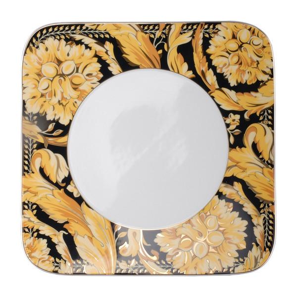Dinner Plate, Square, 10 1/2 inch | Versace Vanity