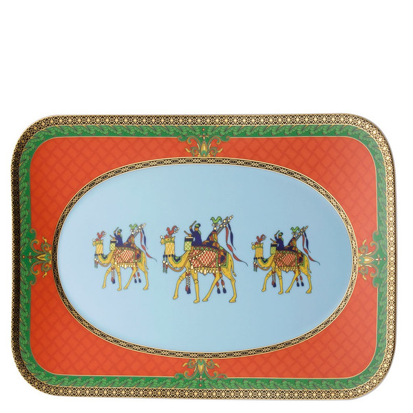 Platter, 12 1/2 inch | Versace Marco Polo