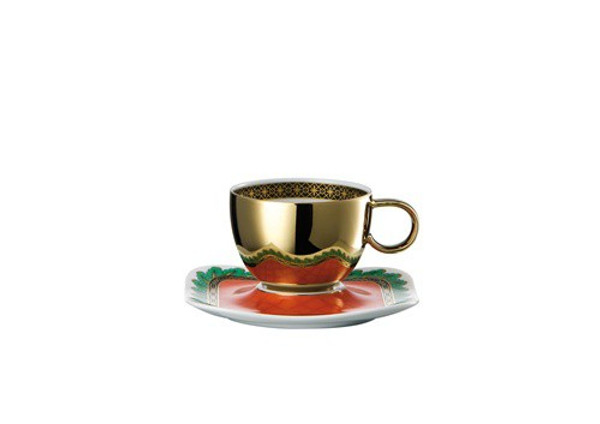 write a review for Espresso Saucer, 4 1/4 inch | Versace Marco Polo