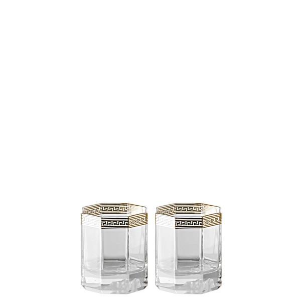 Whiskey, D.O.F., 8 1/2 inch, 4 ounce | Versace Medusa D-Or