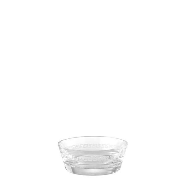 Bowl, 4 3/4 inch | Versace Medusa Clear