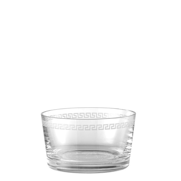 Bowl, 7 inch | Versace Medusa Clear