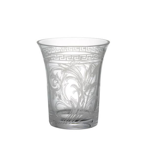 Vase, Crystal, 7 inch | Versace Arabesque Clear