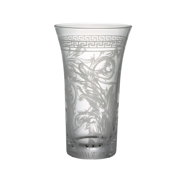 Vase, Crystal, 10 1/4 inch | Versace Arabesque Clear