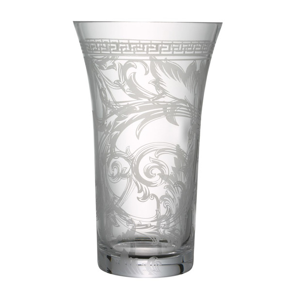 Vase, Crystal, 13 1/2 inch | Versace Arabesque Clear