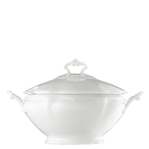 Soup Tureen, 116 ounce | Rosenthal Baronesse White