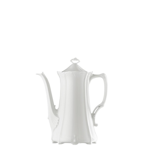 Coffee Pot, 46 ounce | Rosenthal Baronesse White