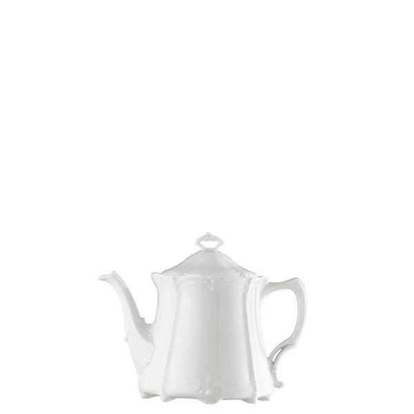 Tea Pot, 43 ounce | Rosenthal Baronesse White