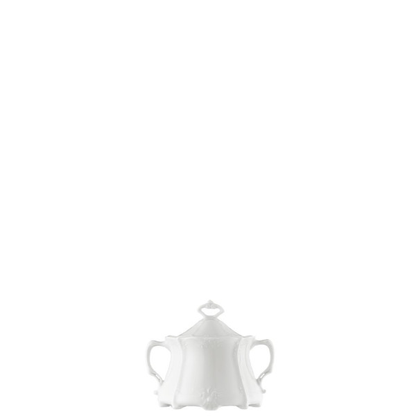Sugar Bowl, Covered, 8 1/2 ounce | Rosenthal Baronesse White
