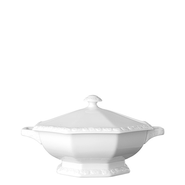 Vegetable Bowl, Covered, 47 ounce | Rosenthal Maria White