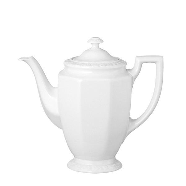 Coffee Pot, Large, 49 ounce | Rosenthal Maria White