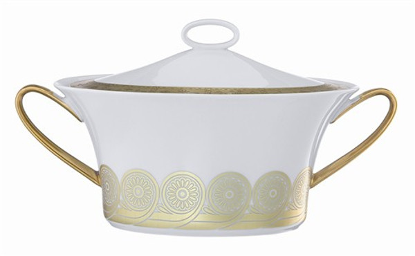 Soup Tureen, (Sand Blasted), 77 ounce | Rosenthal Persis