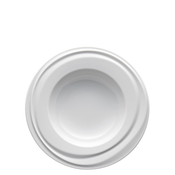 Rim Soup Plate, 9 1/2 inch | Rosenthal Nendoo White