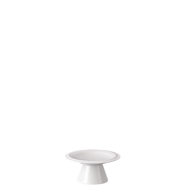 Footed Platter, 4 inch | Rosenthal Nendoo White