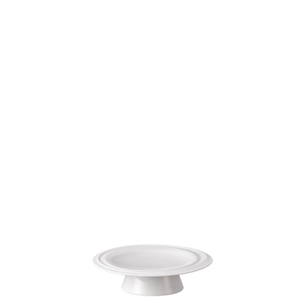 Footed Platter, 5 1/2 inch | Rosenthal Nendoo White