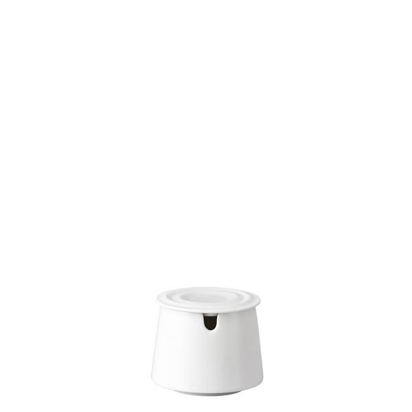 Sugar Bowl, Covered, 7 ounce | Rosenthal Nendoo White