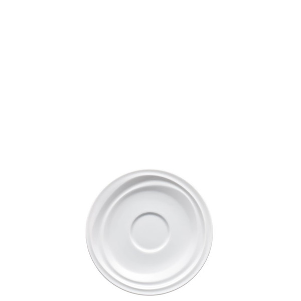 Saucer for Cappuccino, Coffee & Tea | Rosenthal Nendoo White