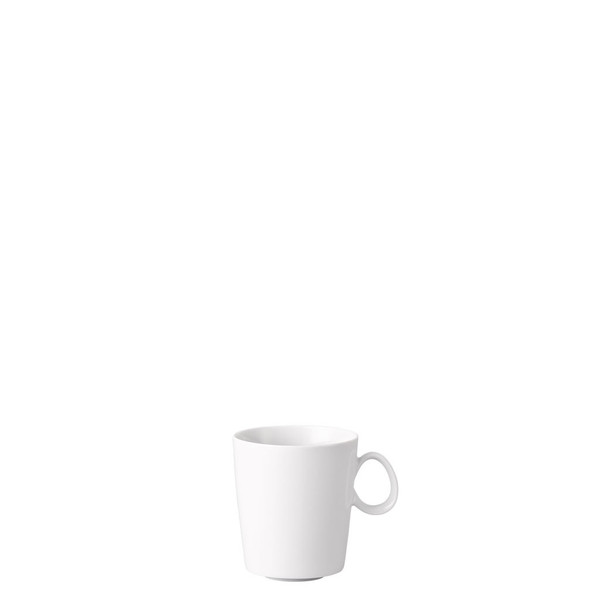 Mug, 8 ounce | Rosenthal Nendoo White