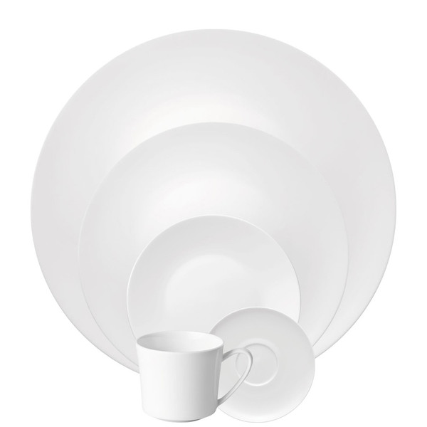5 Piece Place Setting, Coupe (5 pps) | Jade