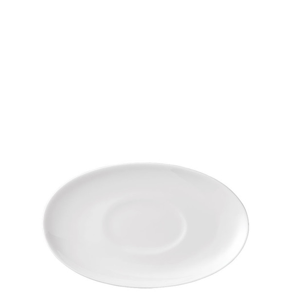 Plate, oval/Sauceboat stand, 9 1/2 inch | Rosenthal Jade