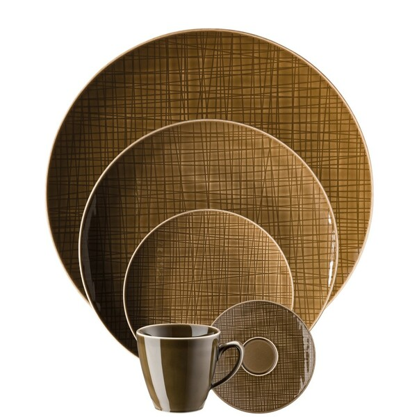 5 Piece Place Setting (5 pps) | Mesh Walnut