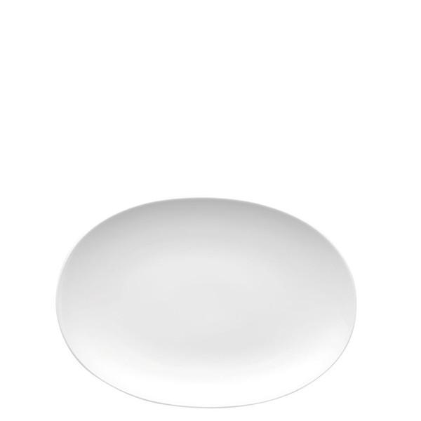 Platter, 13 inch | Thomas Medaillon White