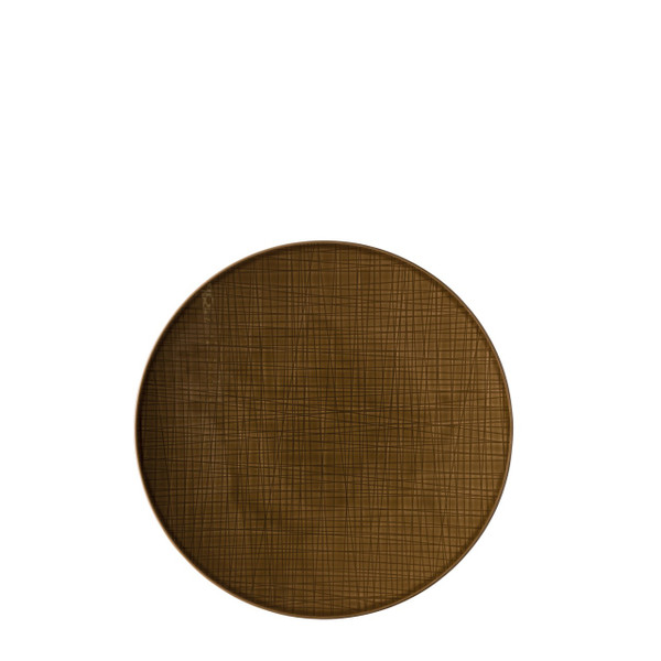 Service Plate, 13 inch | Rosenthal Mesh Walnut