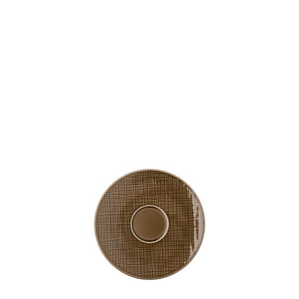 Combi Saucer, 6 1/4 inch | Rosenthal Mesh Walnut