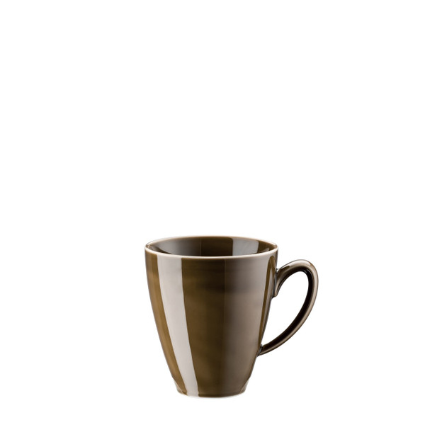 Mug with handle, 12 ounce | Rosenthal Mesh Walnut