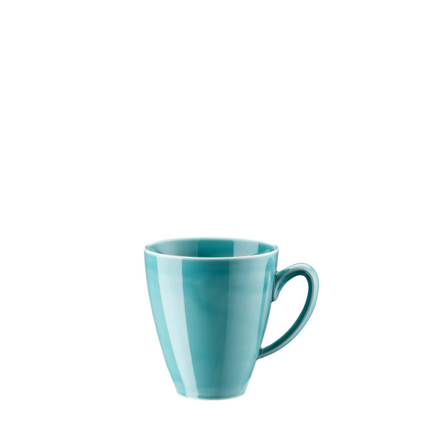 Mug with handle, 12 ounce | Rosenthal Mesh Aqua