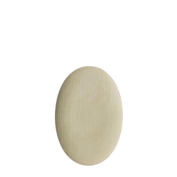 Platter flat oval, 15 inch | Rosenthal Mesh Cream