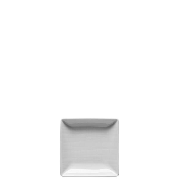 Bowl square, 4 x 4 inch   Rosenthal Mesh White