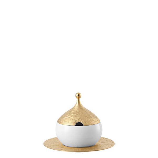 Sauce Boat, Covered, 18 1/2 ounce | Rosenthal Magic Flute Sarastro