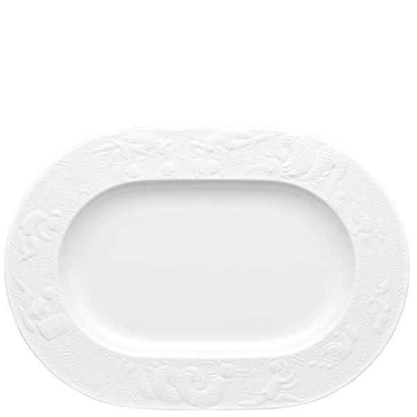 Platter, 13 inch | Rosenthal Magic Flute White