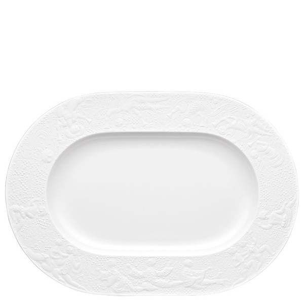 write a review for Platter, 15 inch | Rosenthal Magic Flute White