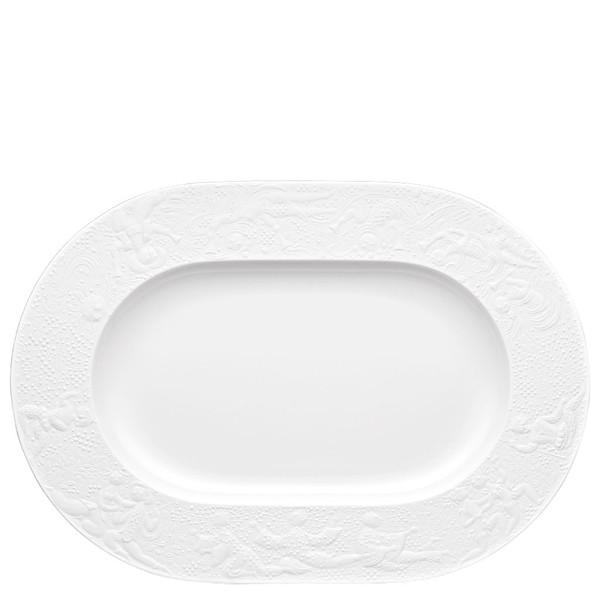 Platter, 15 inch | Rosenthal Magic Flute White