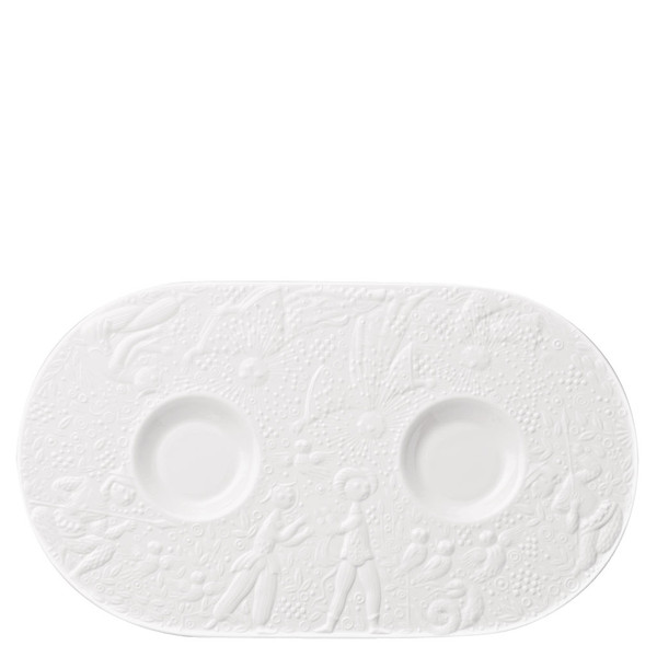 Tray for Sugar & Creamer, 12 inch | Rosenthal Magic Flute White