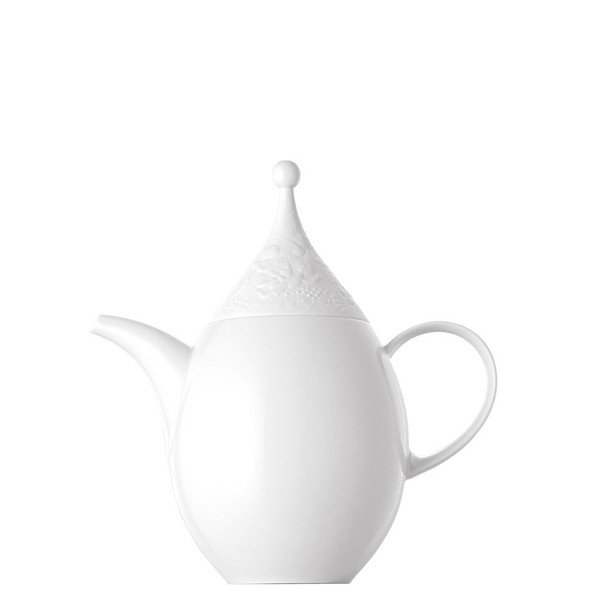 Coffee Pot, 44 ounce | Rosenthal Magic Flute White