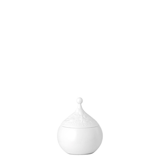 Sugar Bowl, Covered, 8 3/4 ounce | Rosenthal Magic Flute White