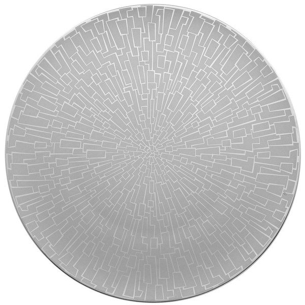 Service Plate, 13 inch | Rosenthal TAC 02 Skin Platinum