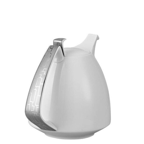 Coffee Pot, 50 ounce | Rosenthal TAC 02 Skin Platinum