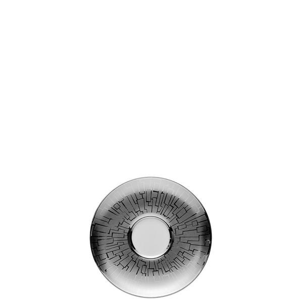 Espresso Saucer, 5 1/2 inch | Rosenthal TAC 02 Skin Platinum