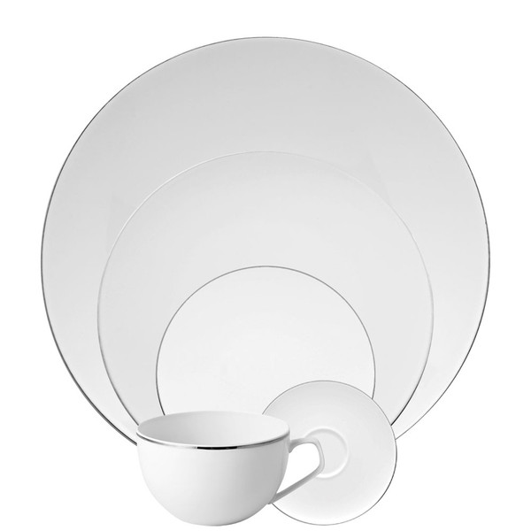 5 Piece Place Setting (5 pps) | TAC 02 Platinum