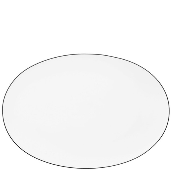 Platter, 13 1/2 inch | Rosenthal TAC 02 Platinum