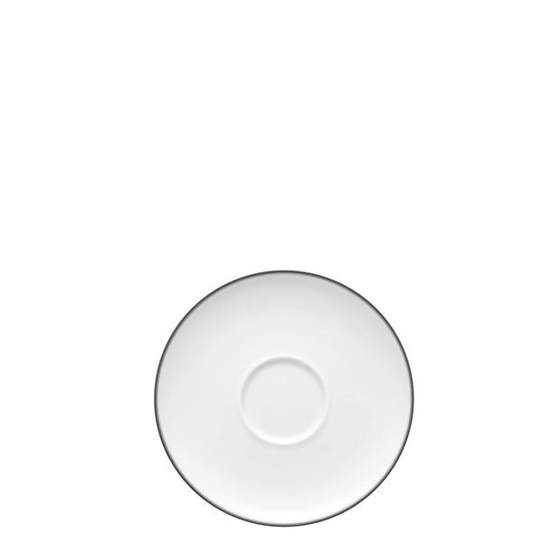 Saucer, Low/Tea, 6 1/3 inch | Rosenthal TAC 02 Platinum