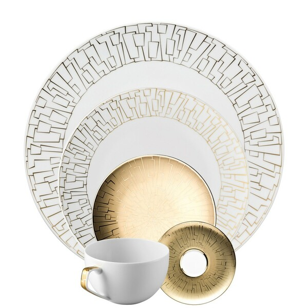 5 Piece Place Setting (5 pps) | TAC 02 Skin Gold