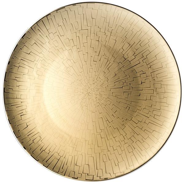 Service Plate, 13 inch | Rosenthal TAC 02 Skin Gold